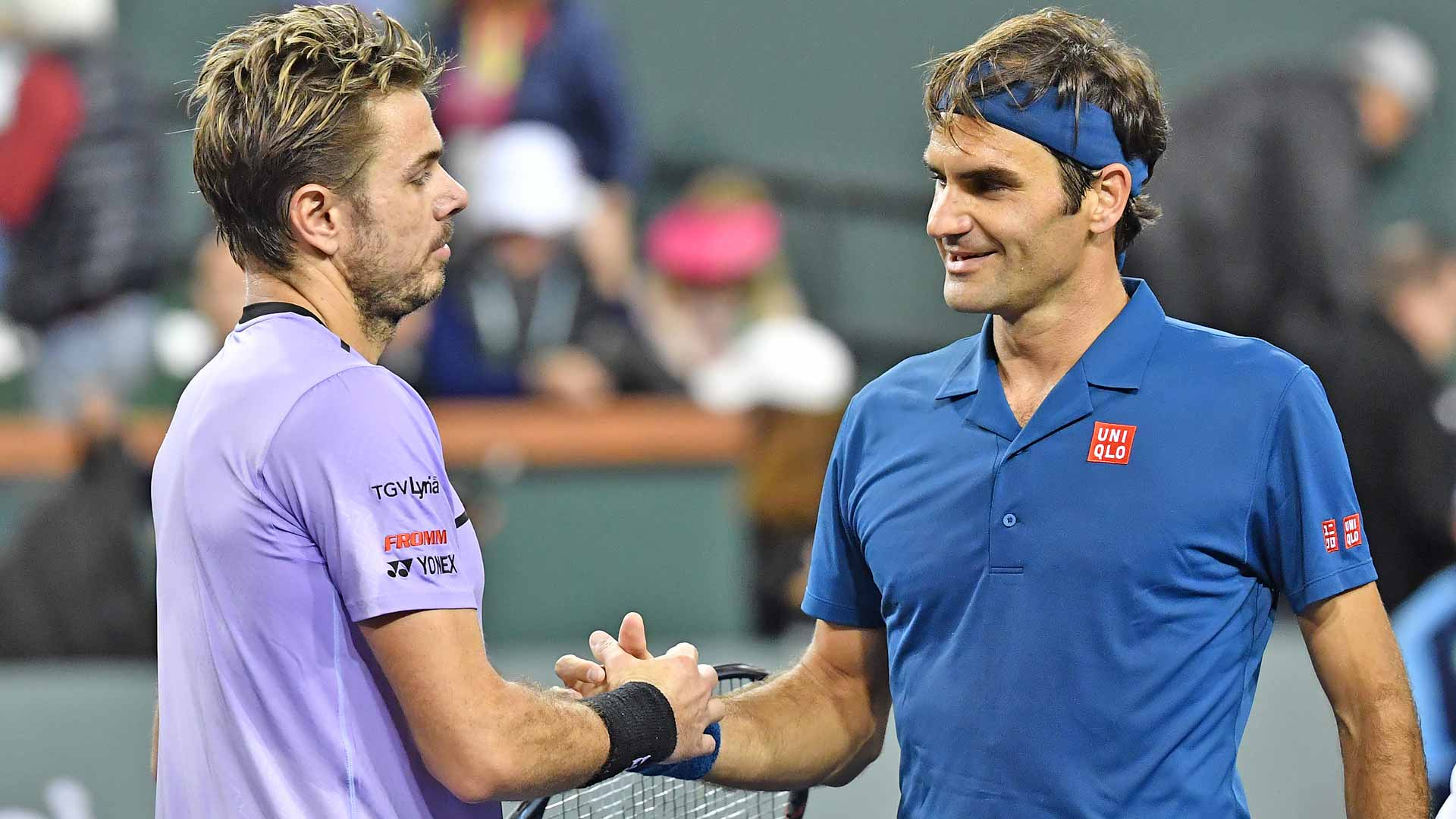 Stan Wawrinka loses to Roger Federer in Indian Wells