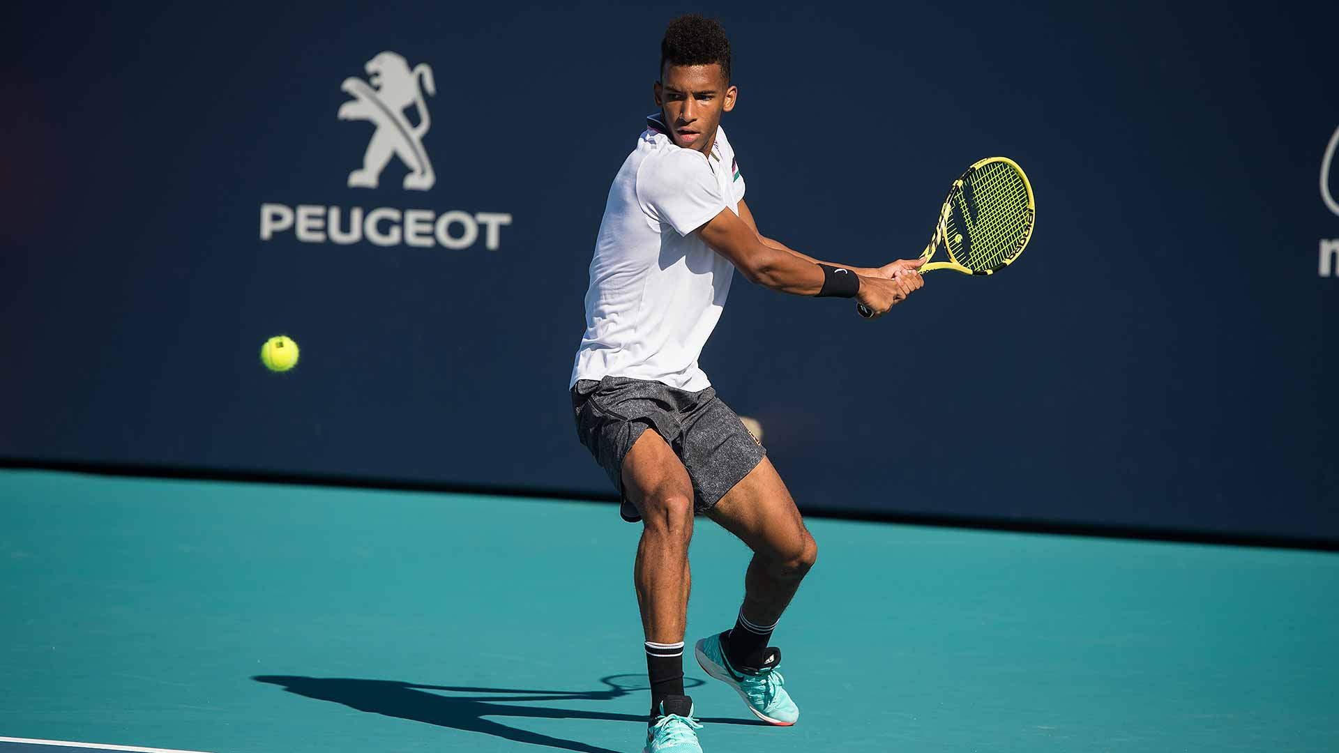 Felix Auger-Aliassime will play in Miami main draw