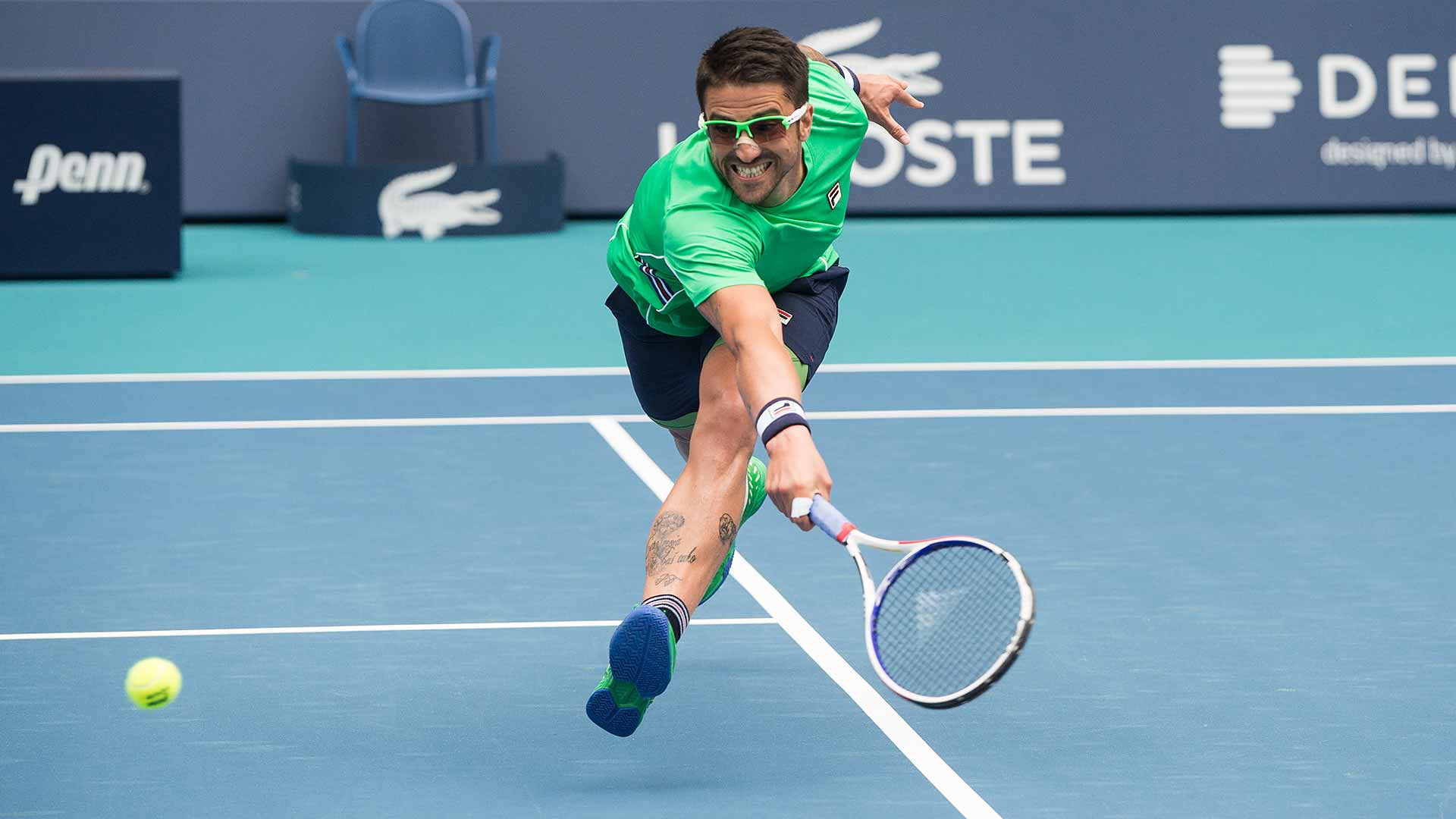 Janko Tipsarevic is on the comeback trail again