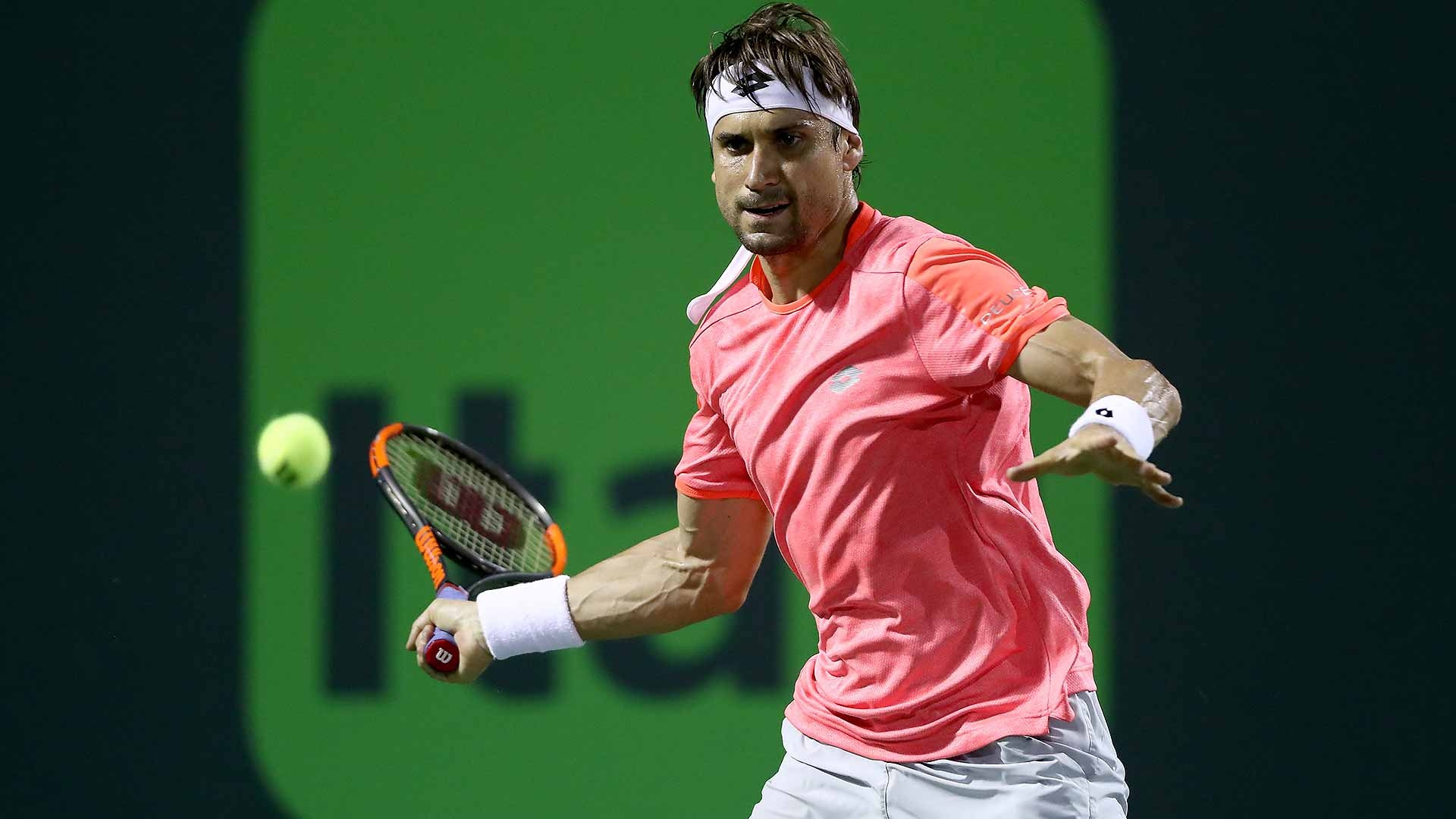 David Ferrer will make his final appearance at the Miami Open presented by Itau