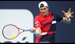 John Isner will try to reach his second Miami Open presented by Itau final this week.