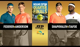A battle of veterans and a battle of #NextGenATP stars headlines Thursday action at the Miami Open presented by Itau.