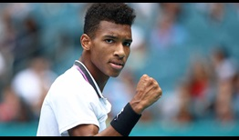 Felix Auger-Aliassime will try to maintain his historic level during the European clay-court swing.