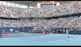 Attendance on Sunday 31 March set a new attendance record at the Miami Open presented by Itau.
