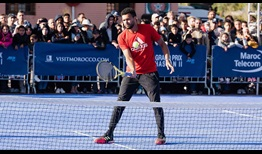 Jo-Wilfried Tsonga will start his clay-court swing this week in Marrakech.