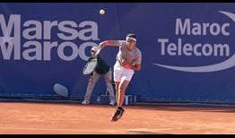Jaume Munar scores the biggest win of his career against Alexander Zverev in Marrakech.