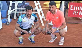 Jurgen Melzer and Franko Skugor win the Marrakech title on their team debut.