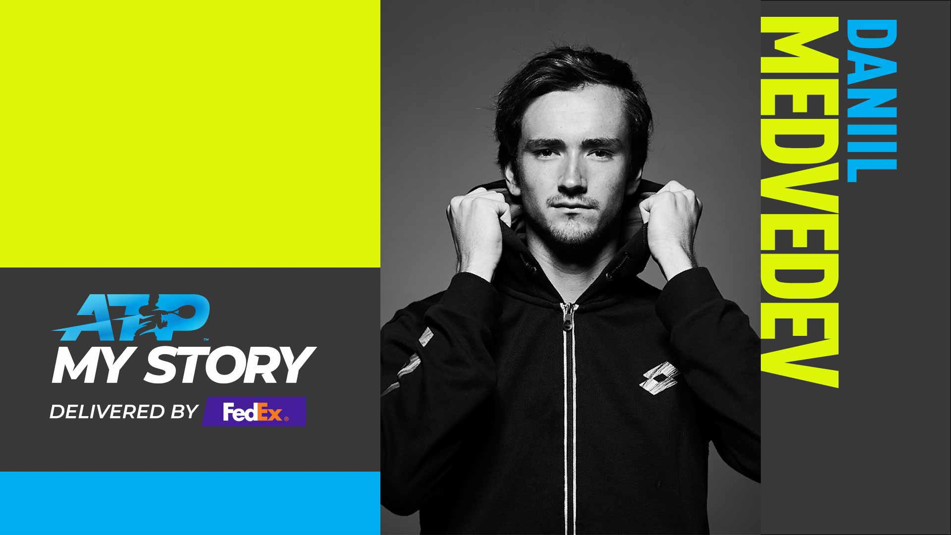 "Daniil Medvedev has won four ATP Tour titles. ""The first title changes anybody,"" he says in his ATP My Story delivered by FedEx profile."