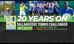 The Tallahassee Tennis Challenger celebrates 20 years on the ATP Challenger Tour.