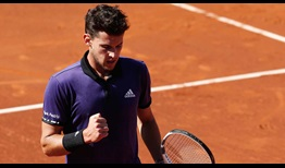 Dominic Thiem is going for his first Barcelona title this week.