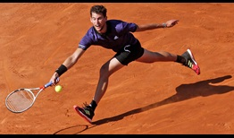 Dominic Thiem earns a clay-court win against Rafael Nadal for the fourth consecutive year.