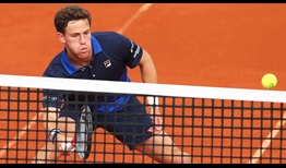Diego Schwartzman saves nine of 13 break points to defeat Benoit Paire at the BMW Open by FWU on Tuesday.