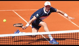 Fourth seed Roberto Bautista Agut came close to trailing 2-5 in the first set against wild card Rudolf Molleker on Thursday in Munich.