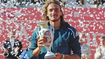 Stefanos Tsitsipas wins the Millennium Estoril Open on Sunday