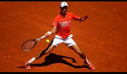 Novak Djokovic extends his perfect record against Jeremy Chardy on Thursday for a place in the Madrid quarter-finals.