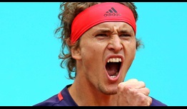 Alexander Zverev comes from a break down in the third set against Hubert Hurkacz to reach the Madrid quarter-finals.