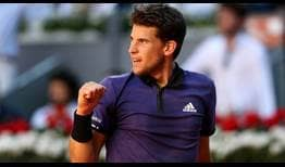 Dominic Thiem is going for his first ATP Masters 1000 clay-court title this week in Madrid.