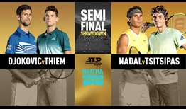 Four Top 10 players headline semi-final Saturday at the Mutua Madrid Open.