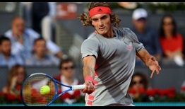 Stefanos Tsitsipas will reach a career-high ATP Ranking of No. 7 on Monday.