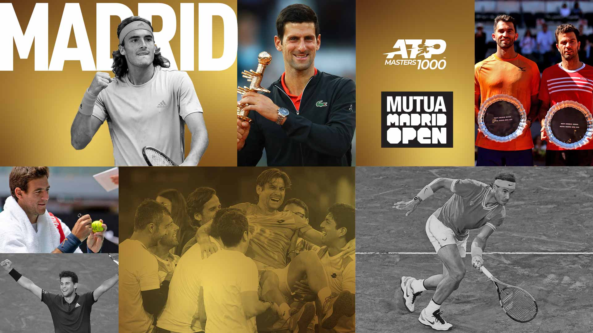 Novak Djokovic defeated Stefanos Tsitsipas to claim his 33rd ATP Masters 1000 title at the Mutua Madrid Open.