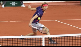 Alexander Zverev saves eight of nine break points to beat Ernests Gulbis at the Banque Eric Sturdza Geneva Open on Tuesday.