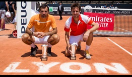 Dodig Roger-Vasselin Lyon 2019 Saturday Trophy