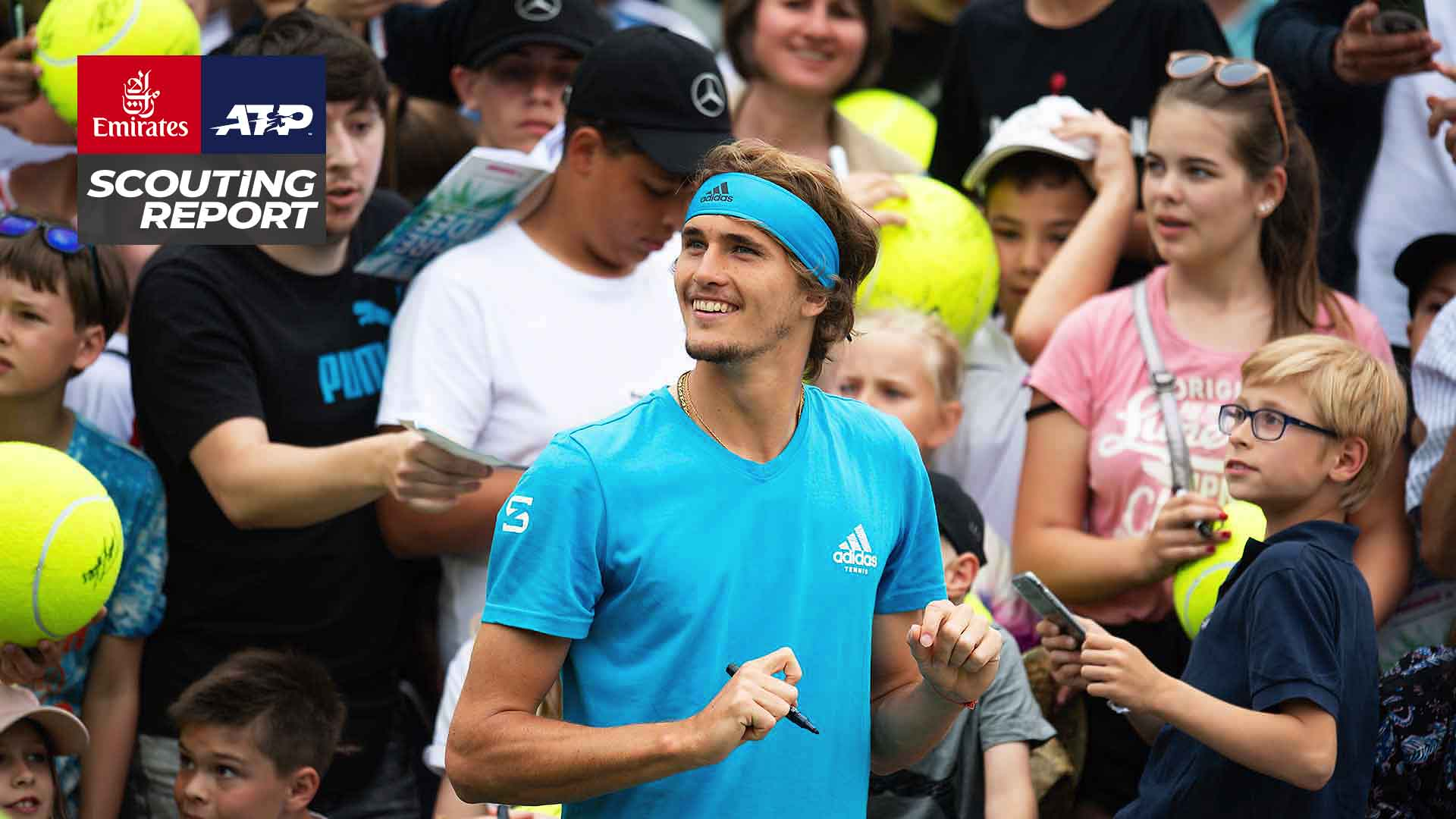 Alexander Zverev is making his third appearance at the MercedesCup.