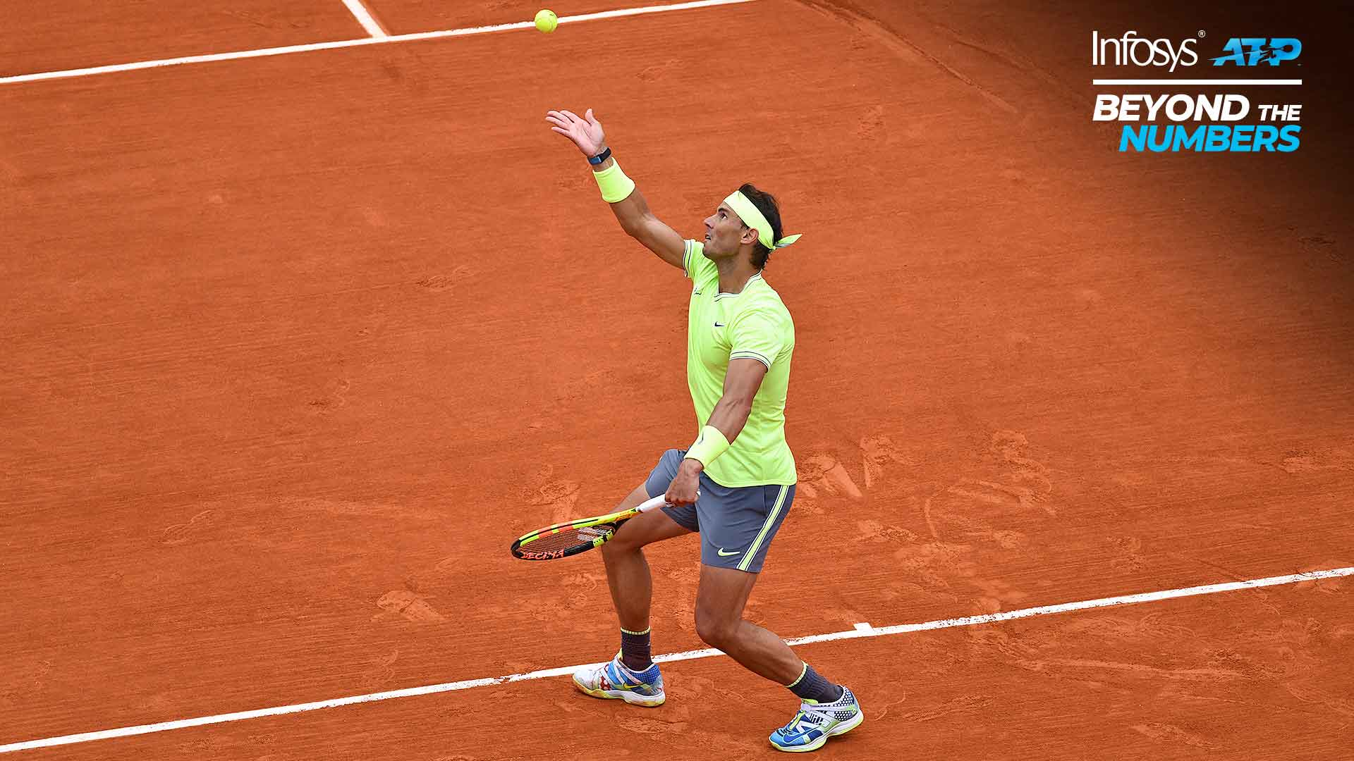 Rafael Nadal is the best at second serves