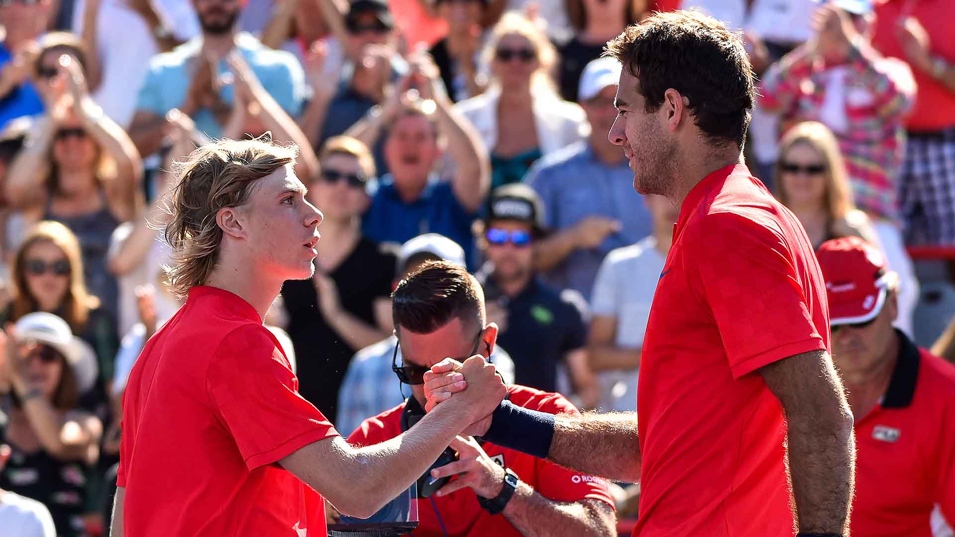 Denis Shapovalov and Juan Martin del Potro will meet in the Fever-Tree Championships first round.
