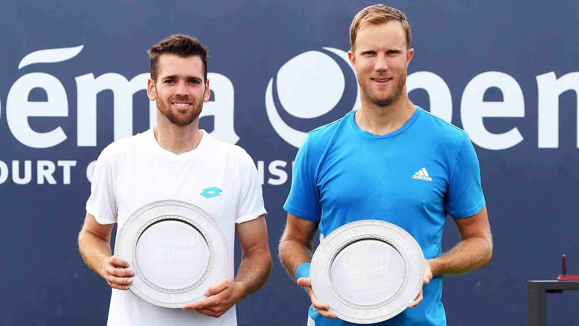 Austin Krajicek and Dominic Inglot defeat Marcus Daniell and Wesley Koolhof to capture the Libema Open title.
