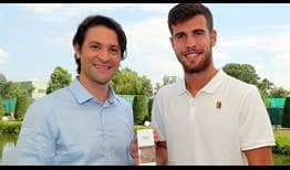 Karen Khachanov was ranked outside the Top 35 of the ATP Rankings just 12 months ago.