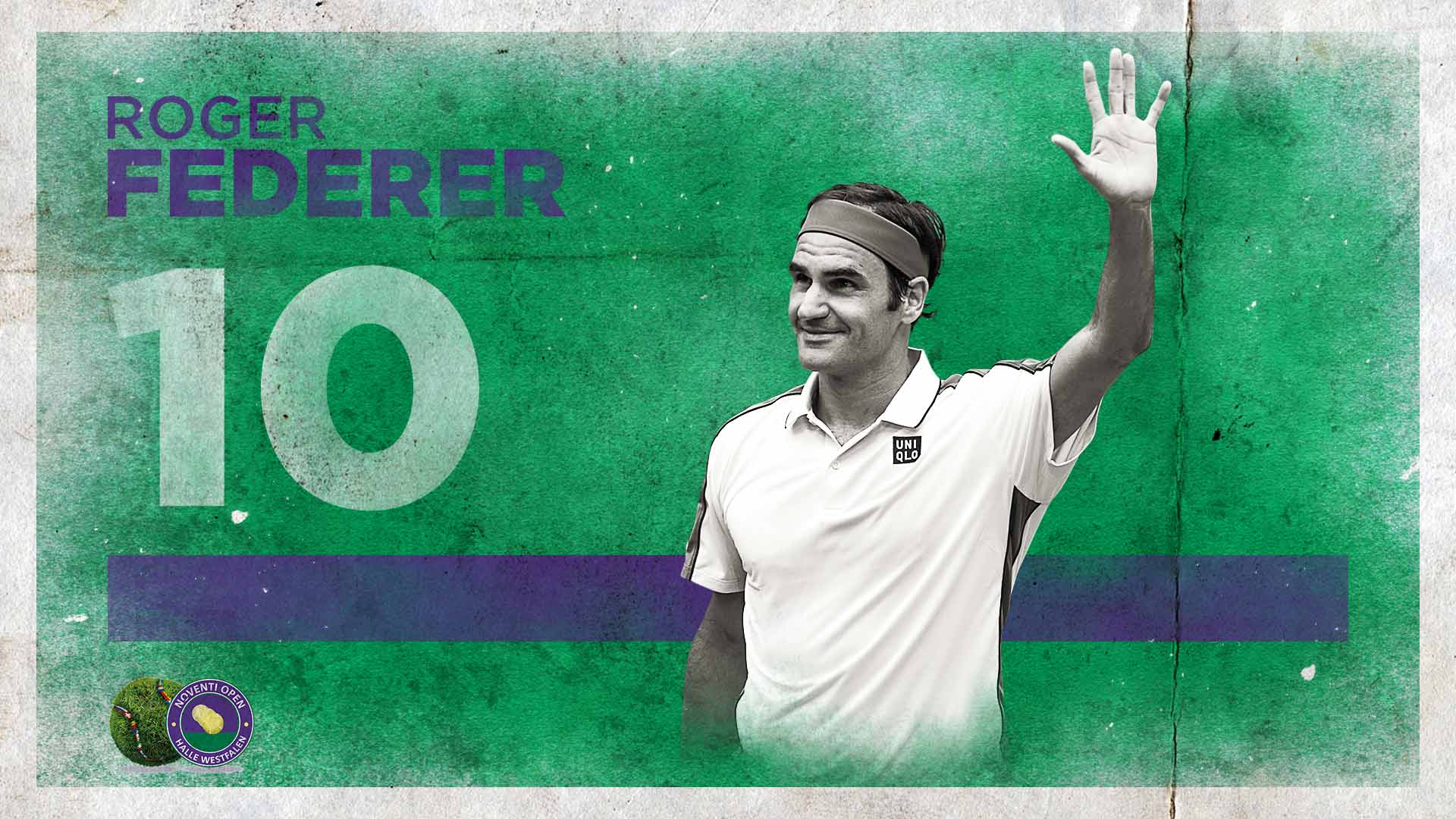 Roger Federer wins his 10th title in Halle