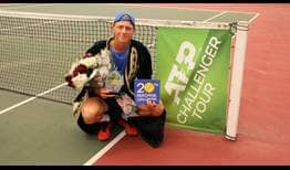 Emil Ruusuvuori lifts his first ATP Challenger Tour trophy in Fergana.