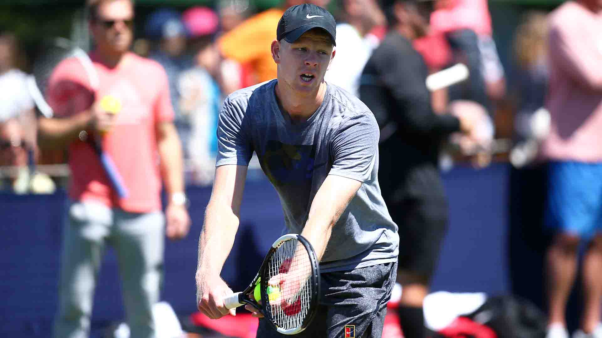 British No. 1 Kyle Edmund is seeded third at the Nature Valley International.