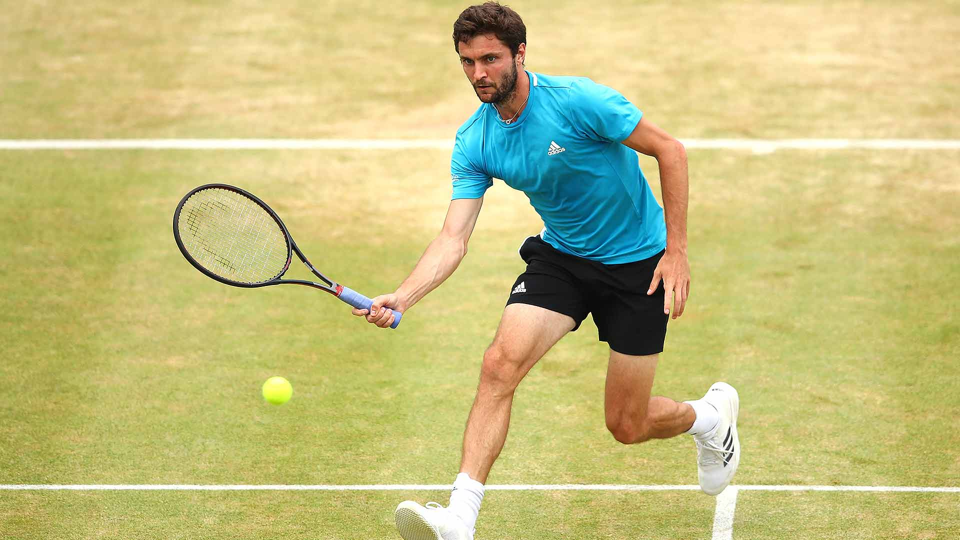 Gilles Simon wins again on Tuesday at the Nature Valley International in Eastbourne