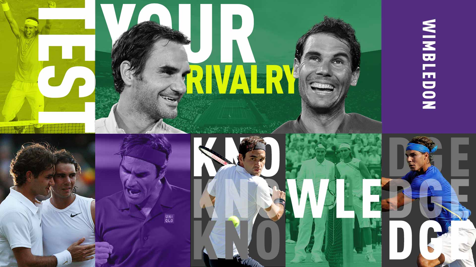 Roger Federer and Rafael Nadal will play at Wimbledon for the fourth time in the semi-finals on Friday