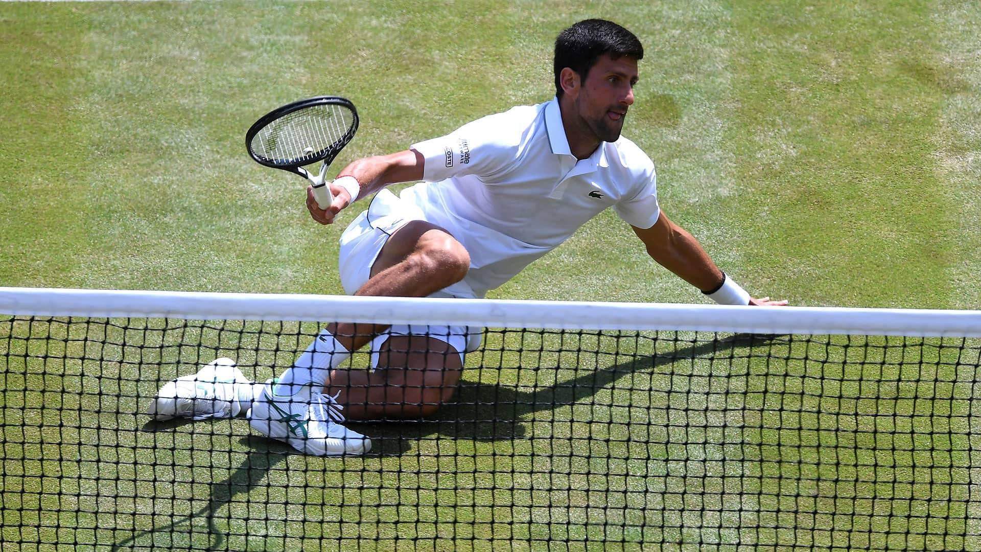 Djokovic, first set