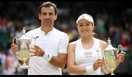 Ivan Dodig and Latisha Chan add the Wimbledon mixed doubles crown to their Roland Garros trophy, which the pair won last month.