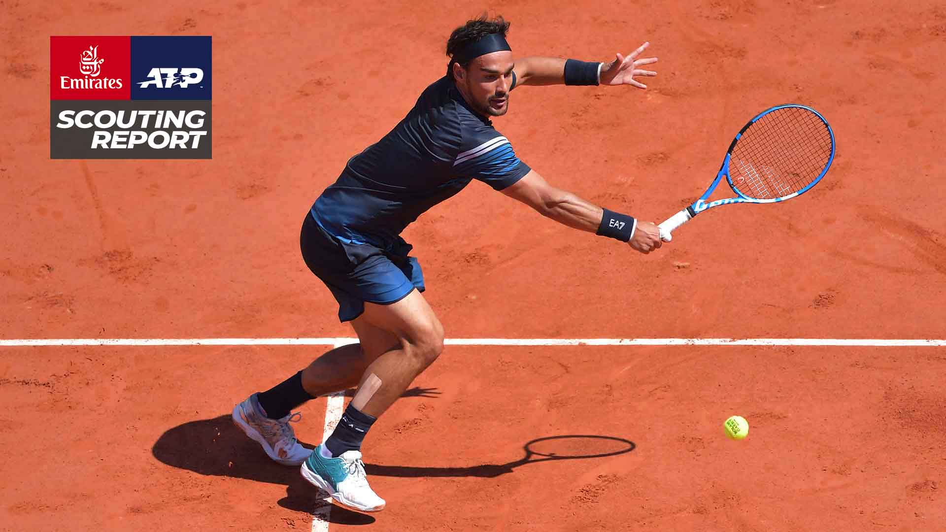 Fabio Fognini is the top seed at the Plava Laguna Croatia Open Umag.
