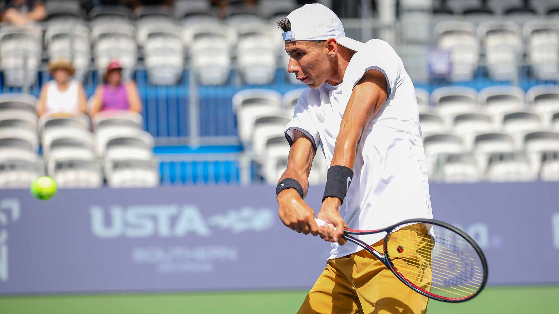 Alexei Popyrin advances on Monday at the BB&T Atlanta Open