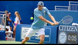 American Reilly Opelka will face John Isner for the fourth time in the second round in Atlanta.