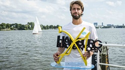 Nikoloz Basilashvili is the first seeded player to lift the Hamburg European Open title since Martin Klizan in 2016.