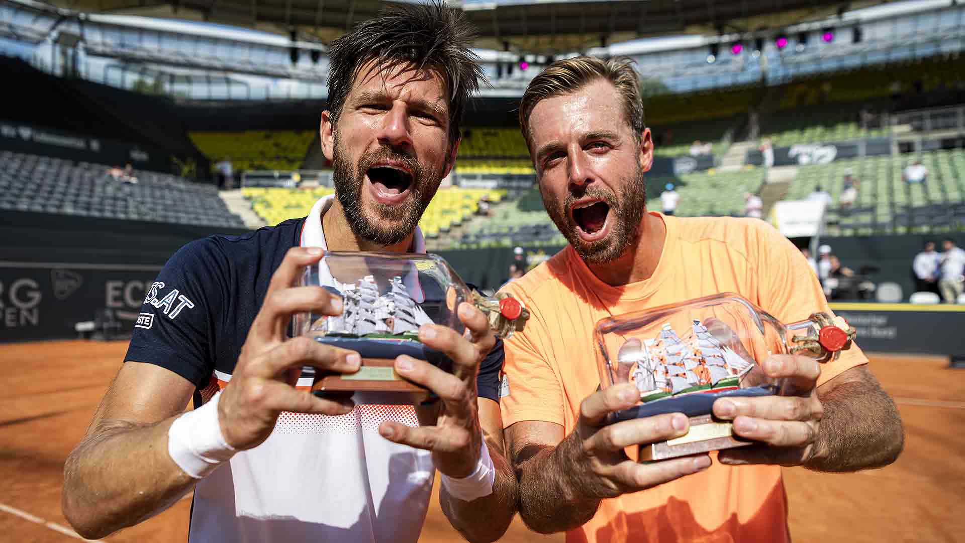 Jurgen Melzer and Oliver Marach improve to 15-9 at tour-level as a team.