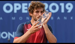 Mario Vilella Martinez clinches his maiden ATP Challenger Tour title in Prague.