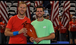 Dominic Inglot and Austin Krajicek pick up their second ATP Tour doubles title of the year in Atlanta.