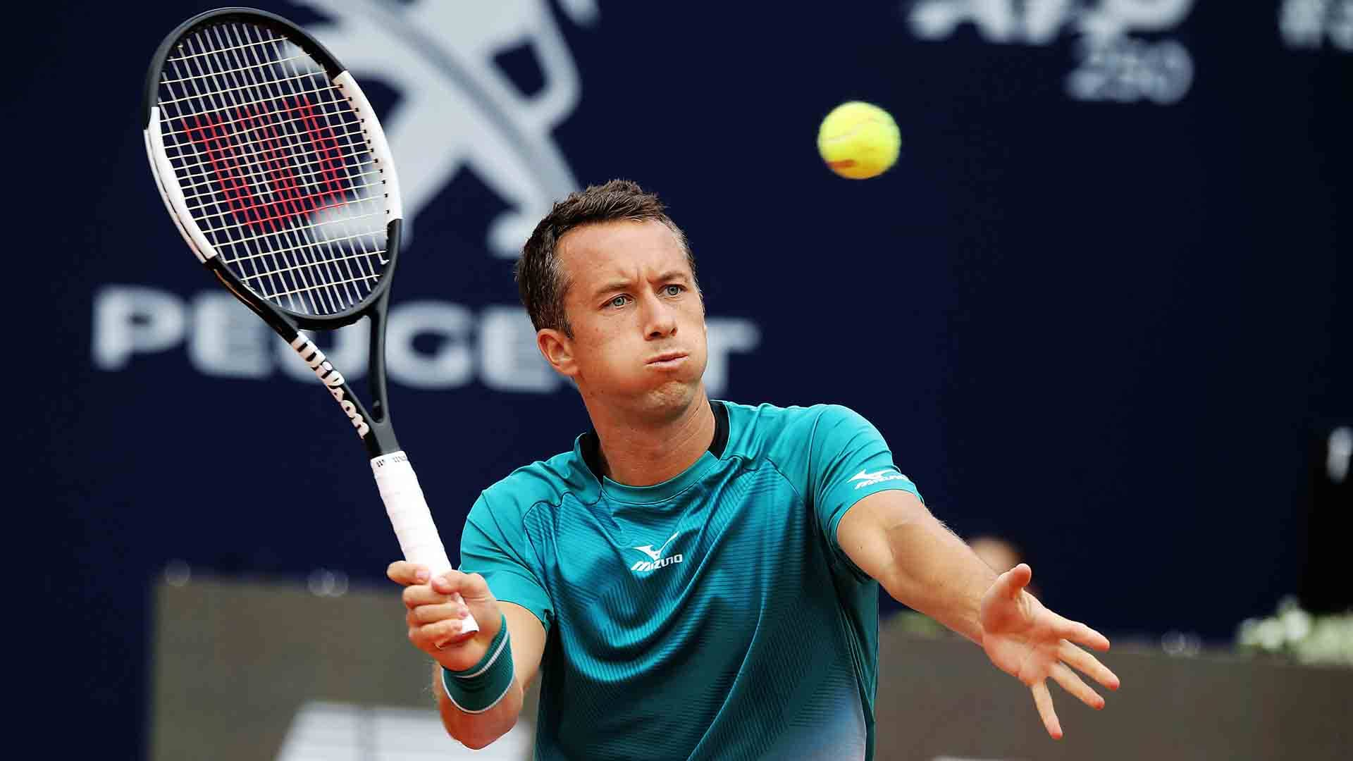 Philipp Kohlschreiber improves to 3-2 in his FedEx ATP Head2Head series against Richard Gasquet.