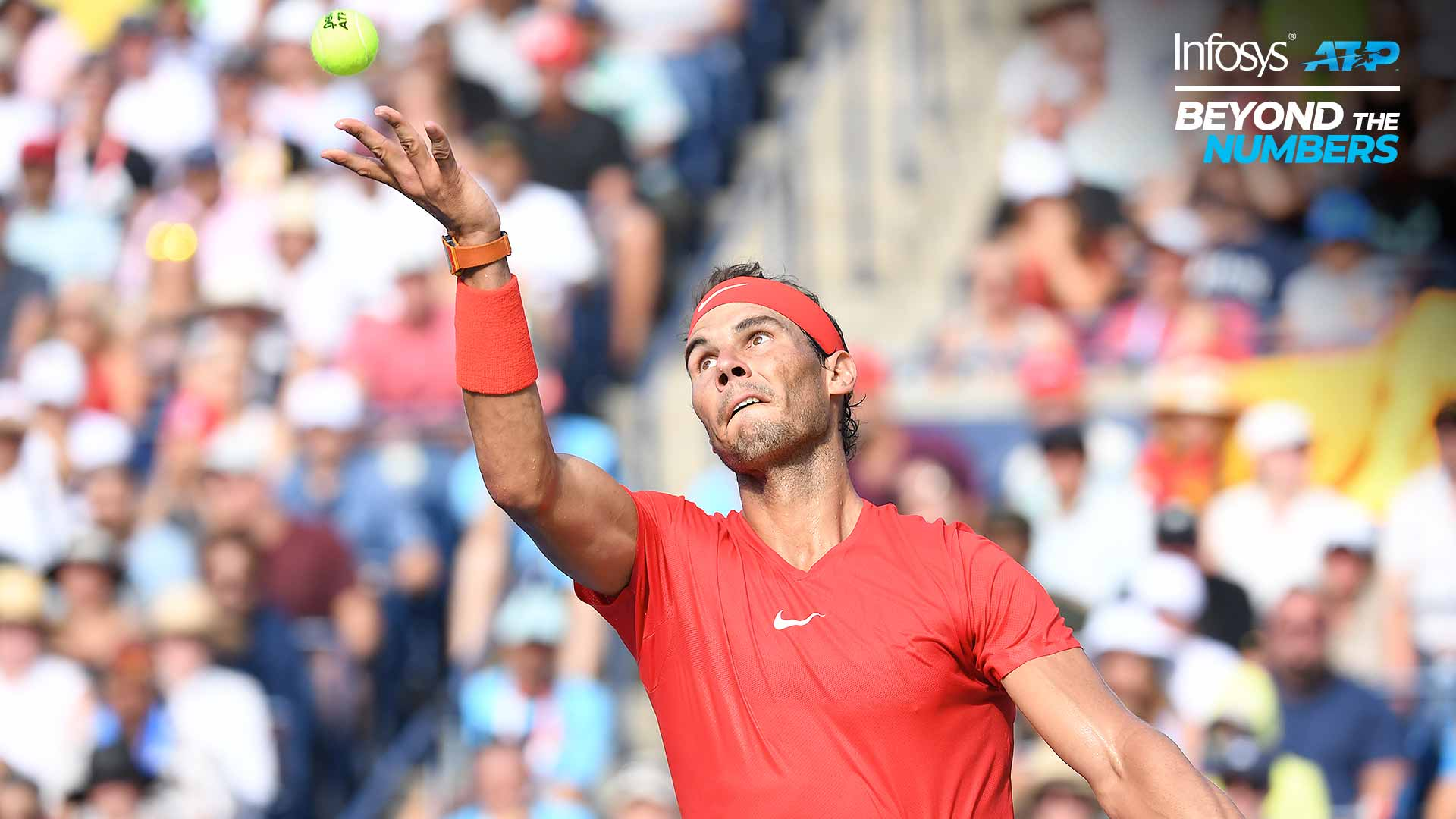Rafael Nadal is the all-time leader in ATP Masters 1000 titles, with 34, including last year's Rogers Cup in Toronto.