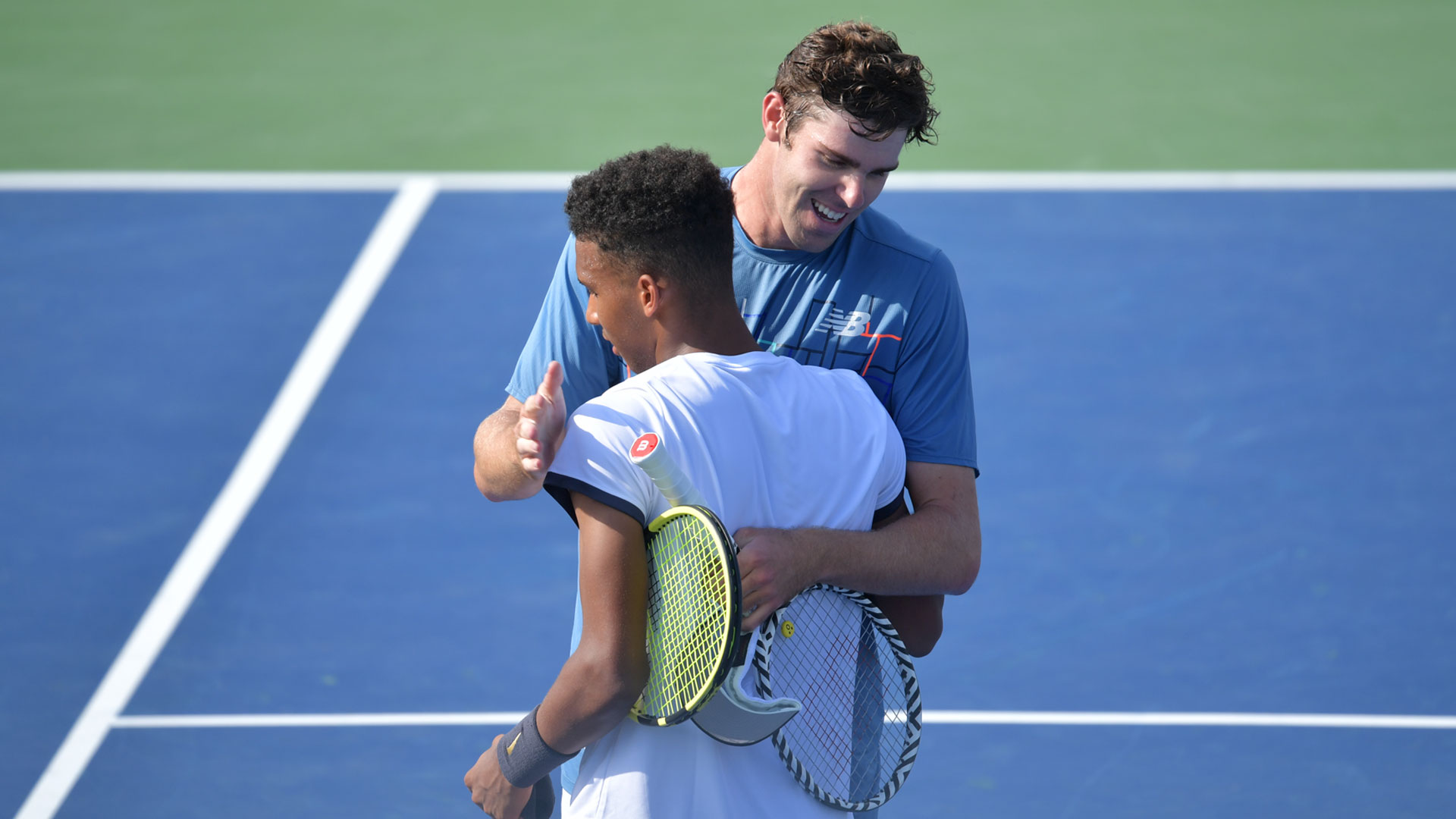 Auger-Aliassime and Opelka Washington 2019