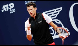 Dominic Thiem is bidding to lift his third ATP Tour title of the season at the Generali Open.