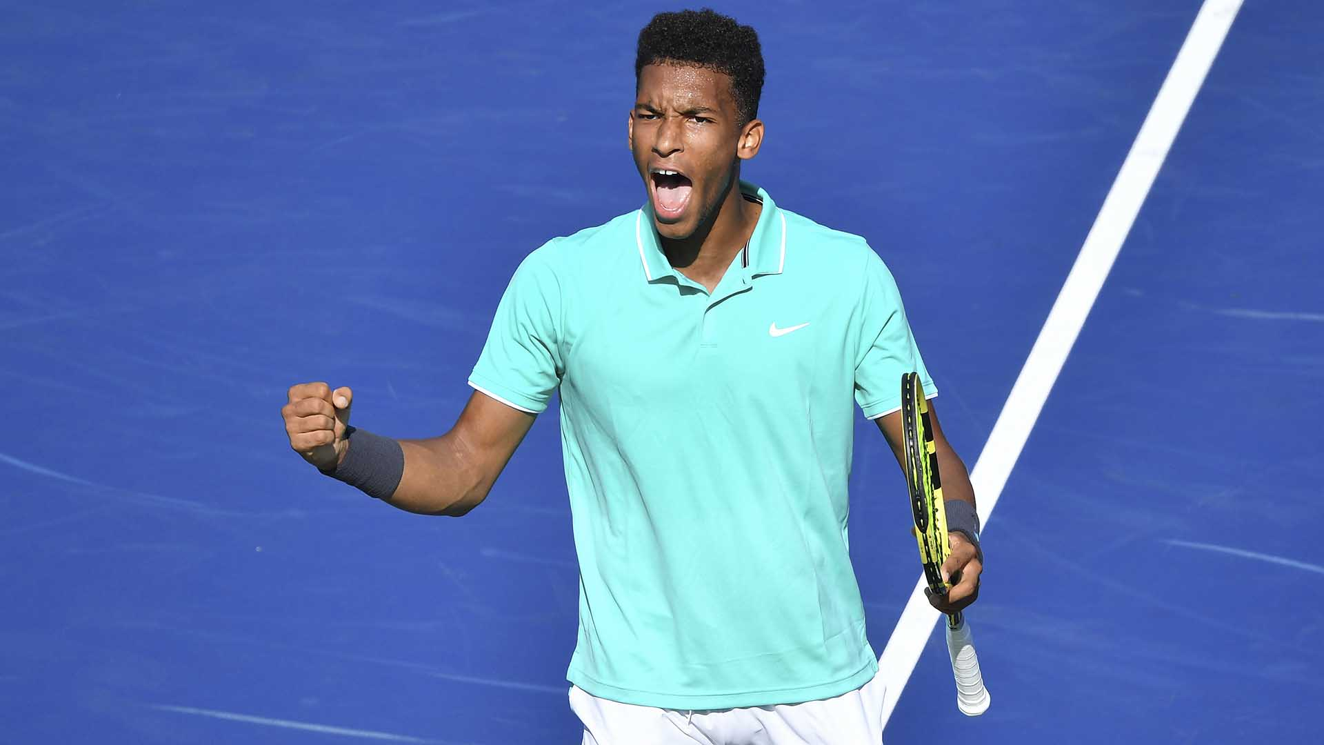 <a href='/en/players/felix-auger-aliassime/ag37/overview'>Felix Auger-Aliassime</a> iplays <a href='/en/players/karen-khachanov/ke29/overview'>Karen Khachanov</a> on Thursday at the Coupe Rogers, an ATP Masters 1000 tennis tournament in Montreal